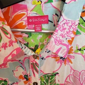 Lilly Pulitzer Target button up